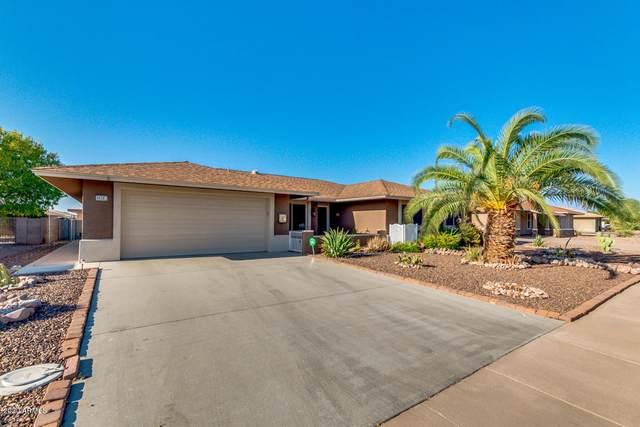 9520 W Timberline Drive, Sun City, AZ 85351 (MLS #6138332) :: The Laughton Team