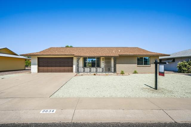 9634 W Willowbrook Drive, Sun City, AZ 85373 (MLS #6138786) :: The Ellens Team