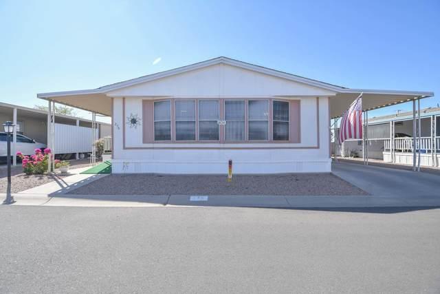 450 W Sunwest Drive #276, Casa Grande, AZ 85122 (MLS #6139201) :: Yost Realty Group at RE/MAX Casa Grande