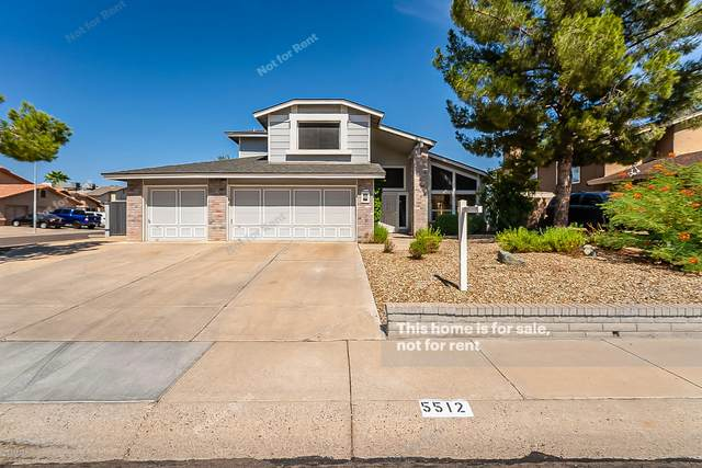 5512 W Christy Drive, Glendale, AZ 85304 (MLS #6139552) :: Brett Tanner Home Selling Team