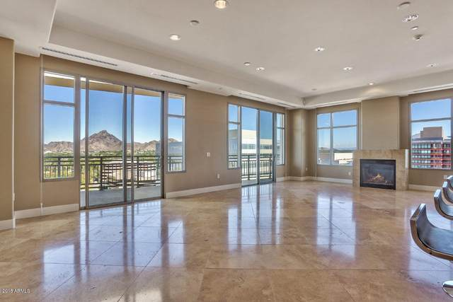 2211 E Camelback Road #1202, Phoenix, AZ 85016 (MLS #6139844) :: Brett Tanner Home Selling Team