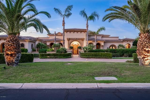 6852 E Fanfol Drive, Paradise Valley, AZ 85253 (MLS #6140135) :: Devor Real Estate Associates
