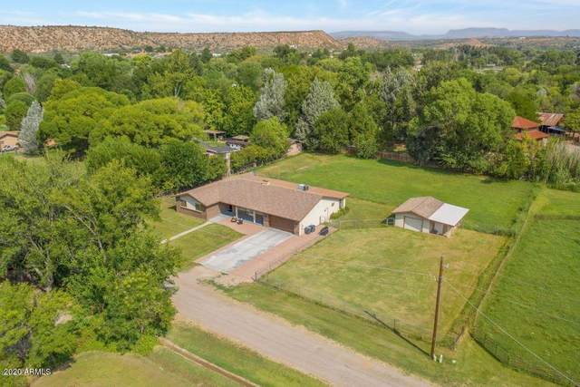 9810 E Garden Lane, Cornville, AZ 86325 (MLS #6144942) :: Nate Martinez Team