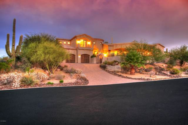 10739 E Cinder Cone Trail, Scottsdale, AZ 85262 (MLS #6145651) :: The Riddle Group