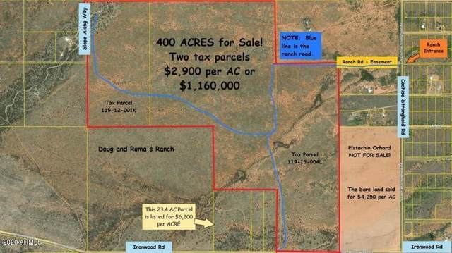 400 Ac On Ironwood Road, Cochise, AZ 85606 (MLS #6146943) :: The Daniel Montez Real Estate Group