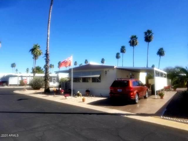 303 S Recker Road #56, Mesa, AZ 85206 (MLS #6147325) :: Brett Tanner Home Selling Team