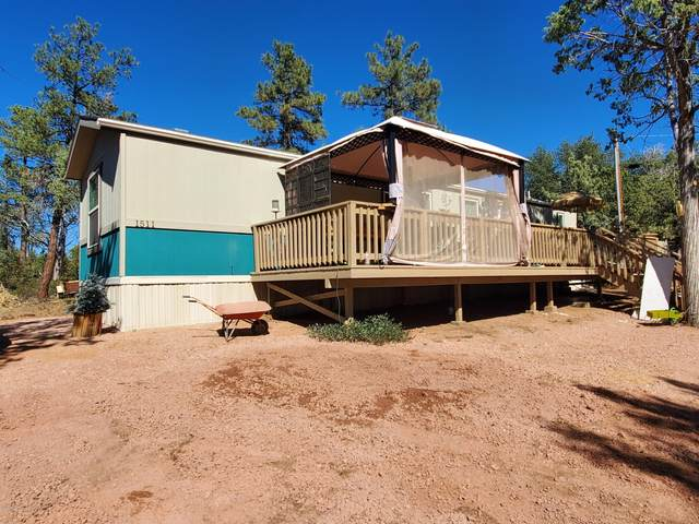 1511 N Wright Circle, Payson, AZ 85541 (MLS #6149533) :: The Helping Hands Team