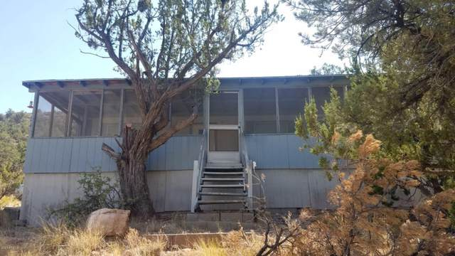 24820 W Mountain Home Trail, Seligman, AZ 86337 (MLS #6149728) :: Long Realty West Valley