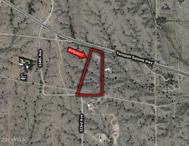 0 W Tonopah Salome Highway W, Tonopah, AZ 85354 (MLS #6151266) :: Devor Real Estate Associates