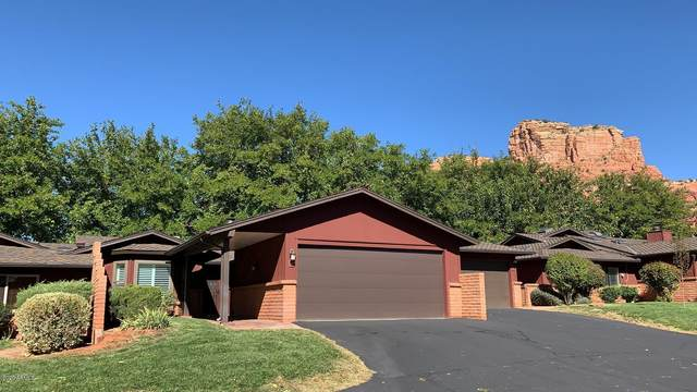 55 Cathedral Rock Drive #18, Sedona, AZ 86351 (MLS #6153168) :: Homehelper Consultants