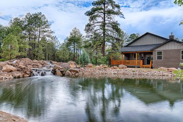 5005 Silver Mountain Drive, Lakeside, AZ 85929 (MLS #6155202) :: Long Realty West Valley