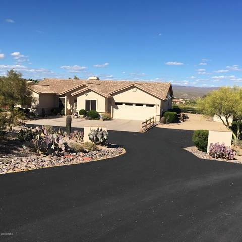 805 Falcon Drive, Wickenburg, AZ 85390 (MLS #6155788) :: The Riddle Group