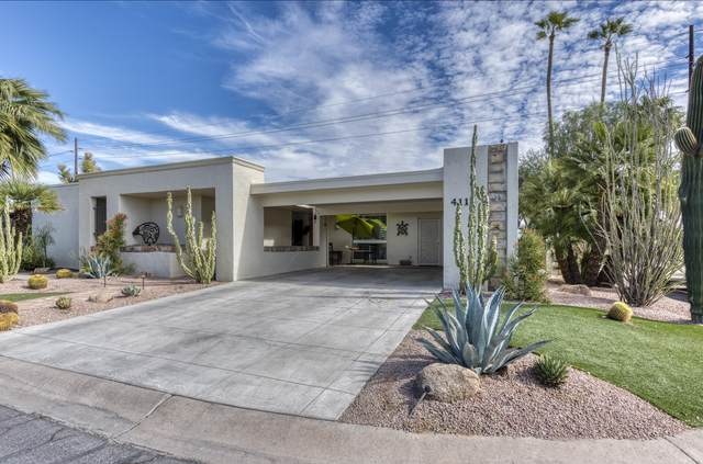 4111 N 87TH Place, Scottsdale, AZ 85251 (MLS #6156017) :: The Riddle Group