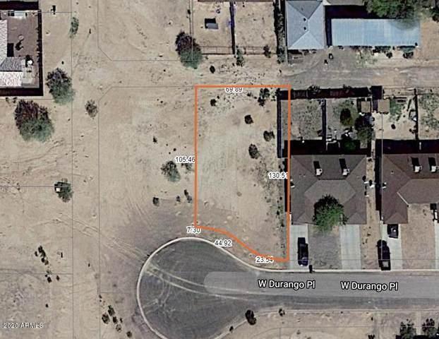 10176 W Durango Place, Arizona City, AZ 85123 (MLS #6156489) :: RE/MAX Desert Showcase