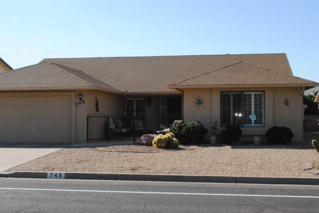 748 S 78TH Place, Mesa, AZ 85208 (MLS #6156834) :: Walters Realty Group