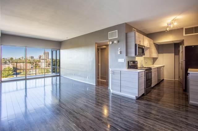 805 N 4TH Avenue #501, Phoenix, AZ 85003 (MLS #6161352) :: BVO Luxury Group