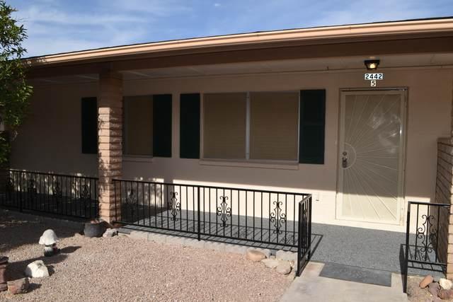 2442 E University Drive #5, Mesa, AZ 85213 (MLS #6161671) :: The Kurek Group