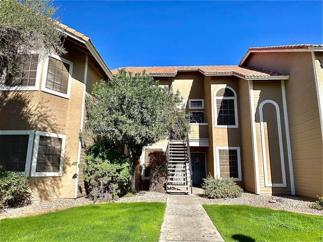 5230 E Brown Road #208, Mesa, AZ 85205 (MLS #6162384) :: Brett Tanner Home Selling Team