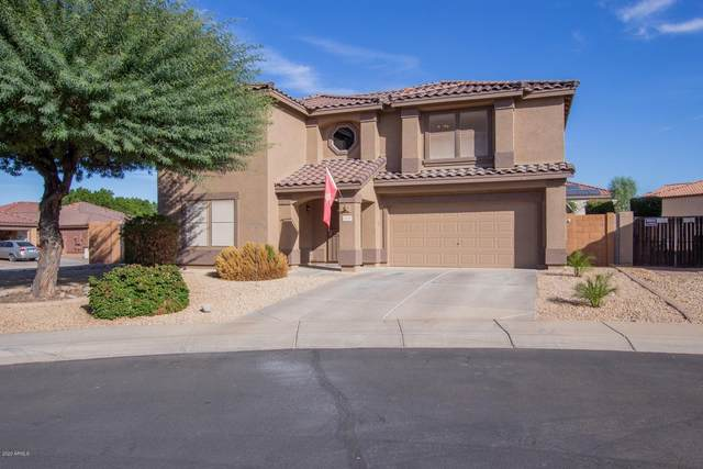 15093 N 158TH Lane, Surprise, AZ 85379 (MLS #6163845) :: Brett Tanner Home Selling Team