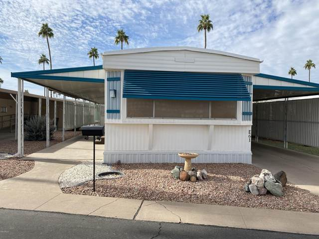 2700 E Allred Avenue E61, Mesa, AZ 85206 (MLS #6164059) :: The Garcia Group