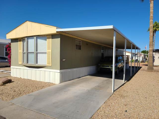 12721 W Greenway Road #110, El Mirage, AZ 85335 (MLS #6164356) :: Brett Tanner Home Selling Team