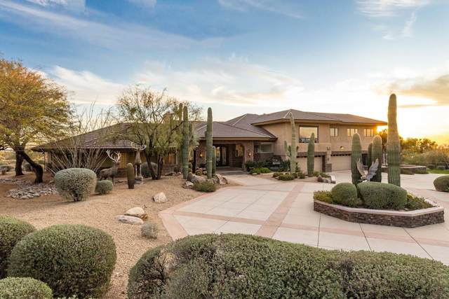 9588 E Pinnacle Peak Road, Scottsdale, AZ 85255 (MLS #6165482) :: BVO Luxury Group