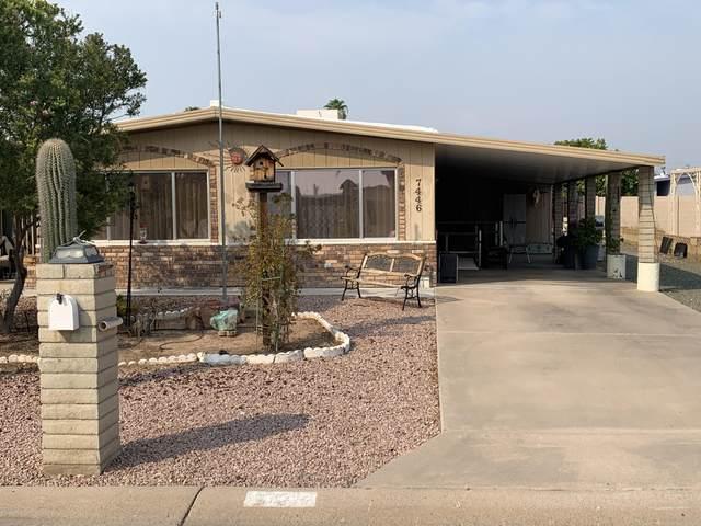 7446 E Baywood Avenue #191, Mesa, AZ 85208 (MLS #6166305) :: The Kurek Group