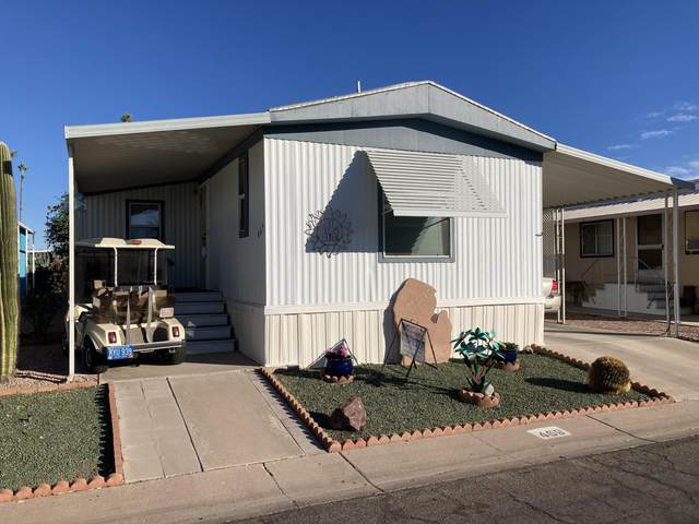 4065 E University Drive #469, Mesa, AZ 85205 (MLS #6166601) :: Long Realty West Valley