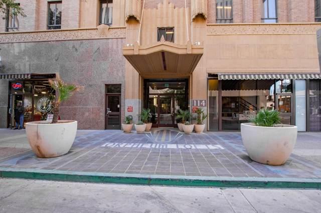 114 W Adams Street #803, Phoenix, AZ 85003 (MLS #6167292) :: Homehelper Consultants