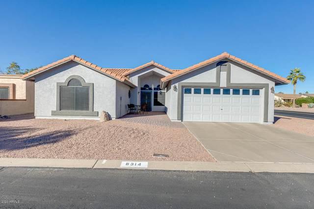 8314 E Edgewood Avenue, Mesa, AZ 85208 (MLS #6167423) :: The Daniel Montez Real Estate Group