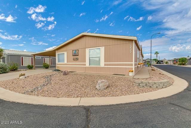 2400 E Baseline Avenue #227, Apache Junction, AZ 85119 (MLS #6172067) :: The Daniel Montez Real Estate Group