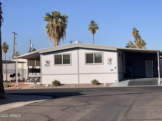 8600 E Broadway Road #9, Mesa, AZ 85208 (MLS #6172946) :: Maison DeBlanc Real Estate