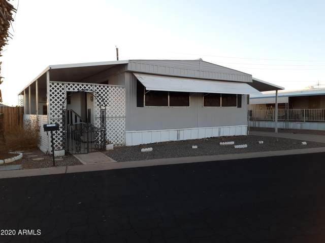 7300 N 51st Avenue G130, Glendale, AZ 85301 (MLS #6173230) :: Maison DeBlanc Real Estate
