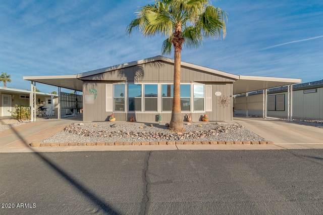 2400 E Baseline Avenue #173, Apache Junction, AZ 85119 (MLS #6173598) :: Devor Real Estate Associates