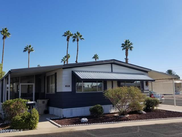 7300 N 51ST Avenue F168, Glendale, AZ 85301 (MLS #6173712) :: Maison DeBlanc Real Estate