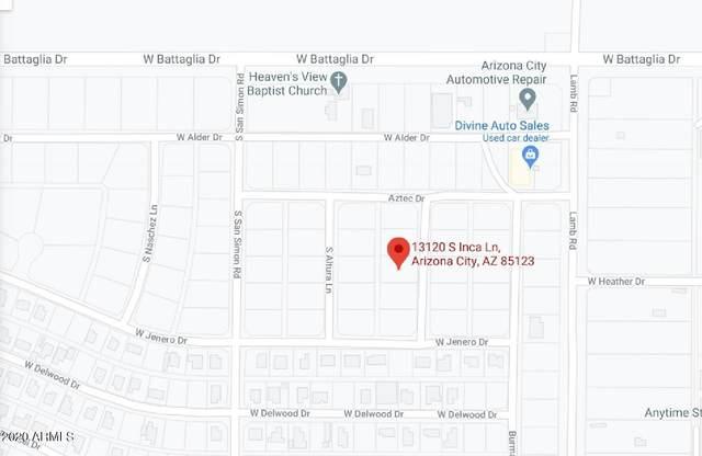 13120 S Inca Lane, Arizona City, AZ 85123 (MLS #6174173) :: Klaus Team Real Estate Solutions