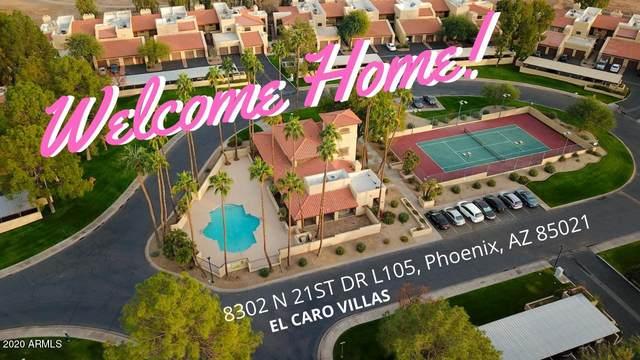 8302 N 21ST Drive L105, Phoenix, AZ 85021 (MLS #6174485) :: Conway Real Estate