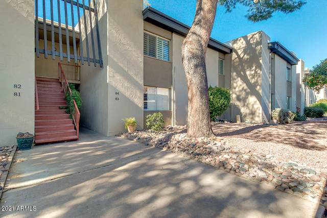 4201 E Camelback Road #82, Phoenix, AZ 85018 (MLS #6178310) :: Maison DeBlanc Real Estate