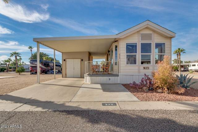 11201 N El Mirage Road #270, El Mirage, AZ 85335 (MLS #6181454) :: Long Realty West Valley