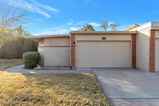 291 Leisure World, Mesa, AZ 85206 (MLS #6181495) :: ASAP Realty