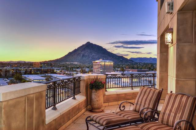 7175 E Camelback Road #1203, Scottsdale, AZ 85251 (#6181784) :: Luxury Group - Realty Executives Arizona Properties