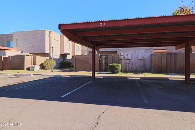 600 S Dobson Road #211, Mesa, AZ 85202 (MLS #6181814) :: Nate Martinez Team