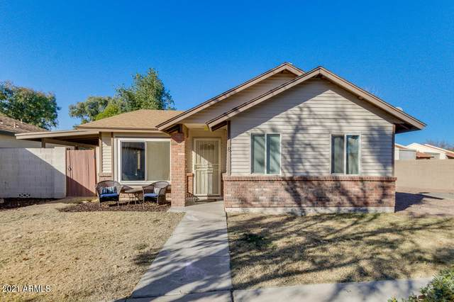 875 S Nebraska Street #8, Chandler, AZ 85225 (MLS #6182935) :: Executive Realty Advisors