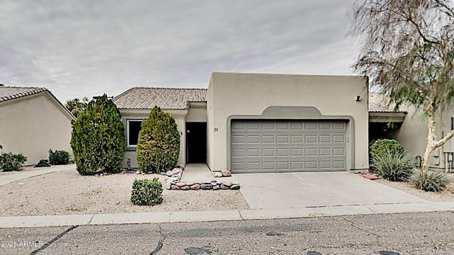 64 N 63RD Street #24, Mesa, AZ 85205 (MLS #6183356) :: Yost Realty Group at RE/MAX Casa Grande