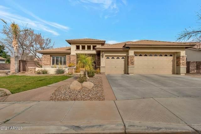 1122 E Coconino Drive, Chandler, AZ 85249 (MLS #6184222) :: Power Realty Group Model Home Center