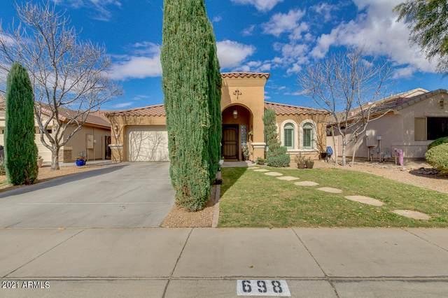 698 E Baker Drive, San Tan Valley, AZ 85140 (MLS #6184236) :: Sheli Stoddart Team   M.A.Z. Realty Professionals