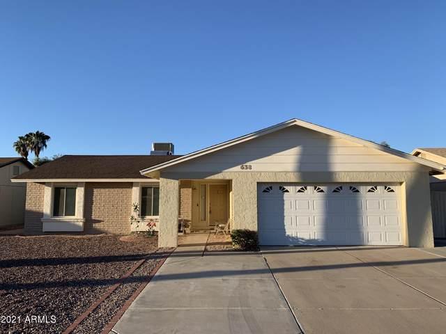 638 W Pantera Avenue, Mesa, AZ 85210 (MLS #6184298) :: Homehelper Consultants