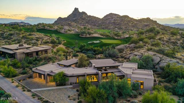 10229 E Running Deer Trail, Scottsdale, AZ 85262 (MLS #6184500) :: The W Group