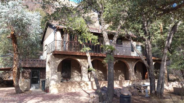 2833 W Hidden Meadow Lane, Bisbee, AZ 85603 (MLS #6185524) :: D & R Realty LLC