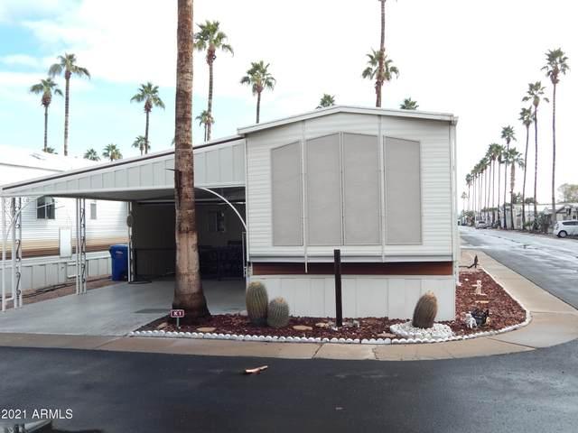 4860 E Main Street K1, Mesa, AZ 85205 (MLS #6185825) :: Long Realty West Valley
